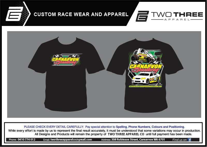 Carnarvon Speedway Club TShirts